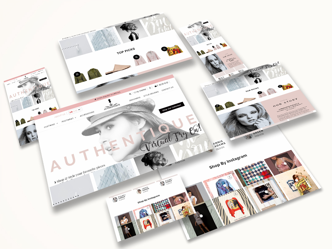Shopify Theme Customization – Authentique
